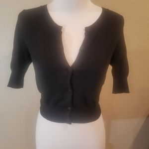 Express Design Studio PBlack shrug XS